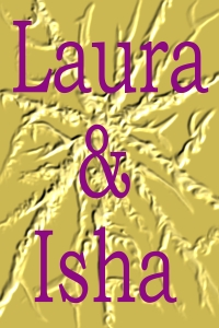 Laura and Isha cover
